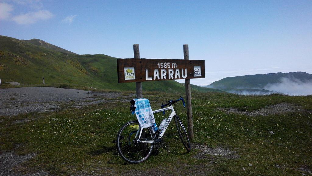 Making it to Larrau